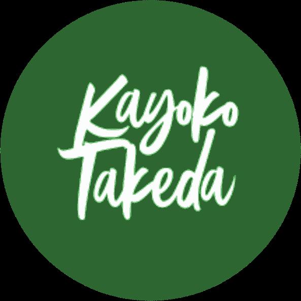 artigo logotipo superior grande transparente kayoko takeda - Sobre
