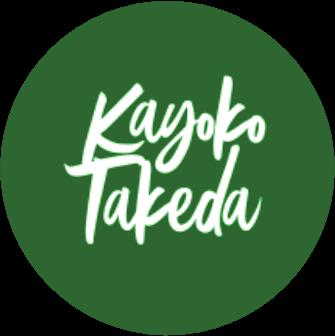 cursos logotipo transparente kayoko takeda - Nishime