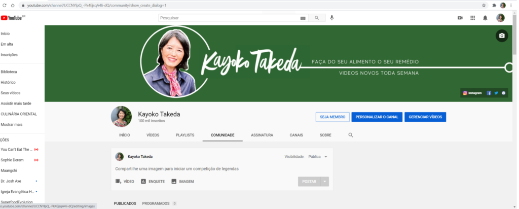 Kayoko Takeda YouTube